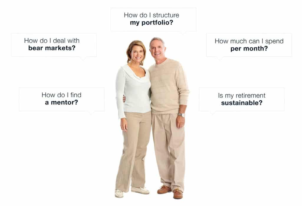 Retired couple - common retirement questions